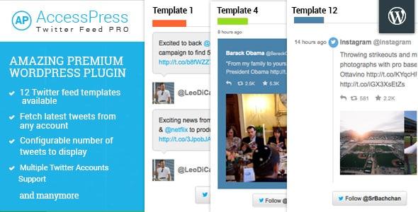 accesspress twitter feed pro - 5+ Best WordPress Twitter Feed Plugins