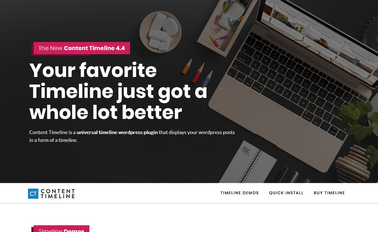 content timeline - 5+ Best Responsive WordPress Timeline Plugins 2019 (How to Add Beautiful Event Timeline in WordPress)