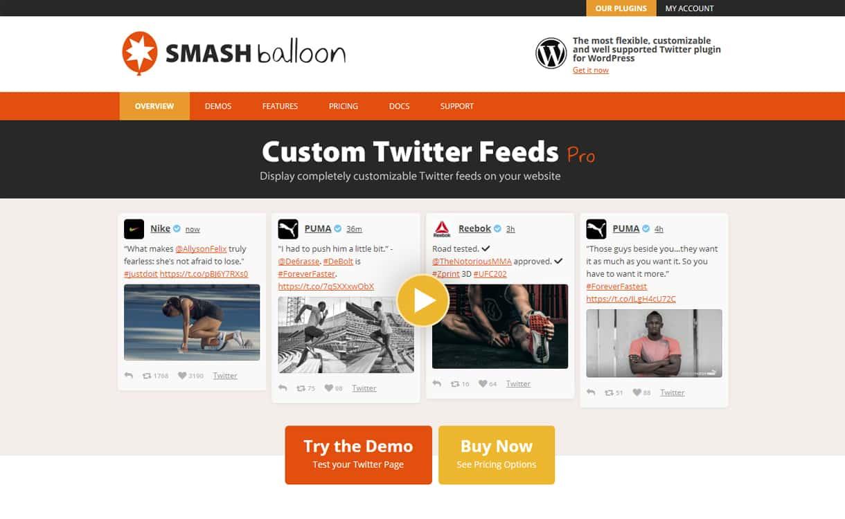 custom twitter feed pro - 5+ Best WordPress Twitter Feed Plugins