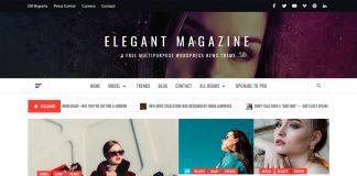 Elegant Magazine - WordPress News Theme