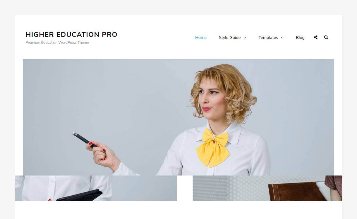 Higher Education-Best Free WordPress Themes March 2018