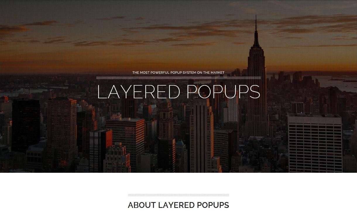 Layered Popups - WordPress Popup Plugins