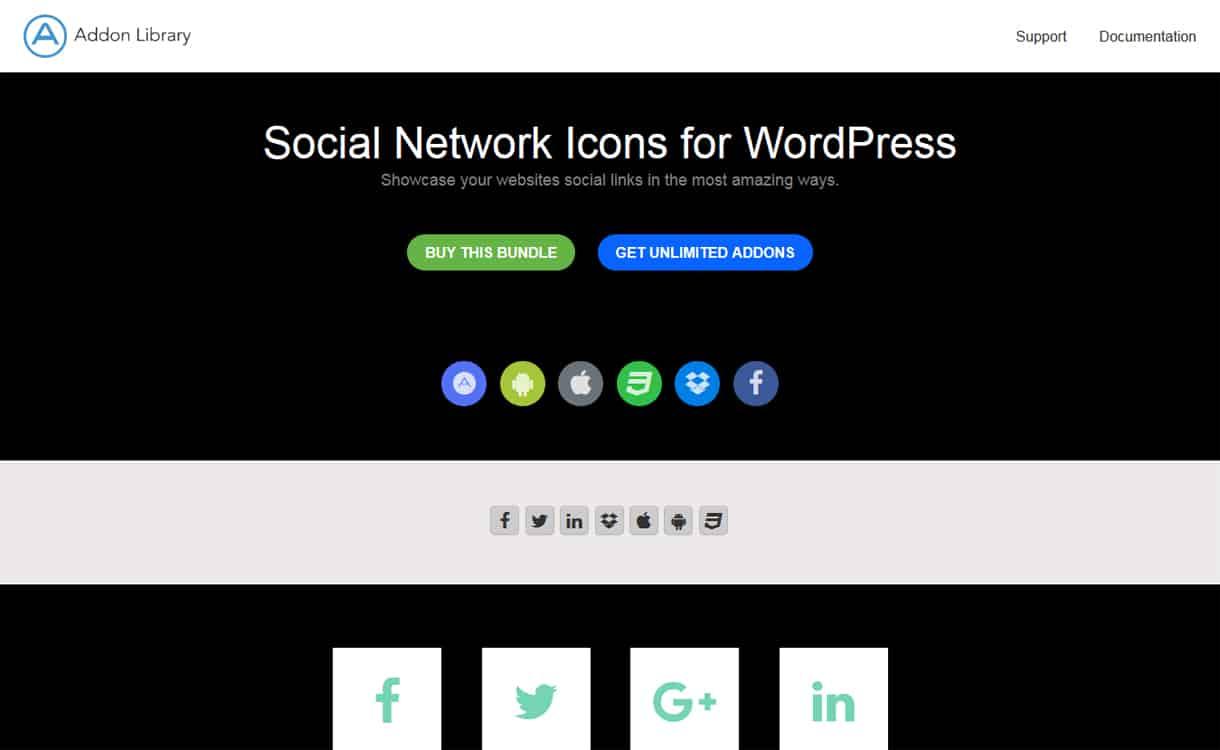 social network icons plugin - 5+ Best WordPress Social Icons Plugins