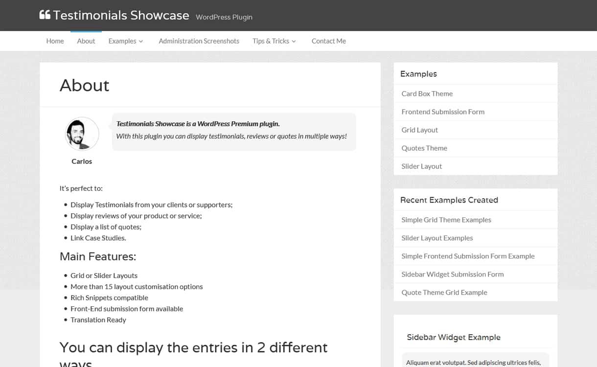 testimonials showcase - 5+ Best WordPress Testimonial Plugins (Premium Collection)