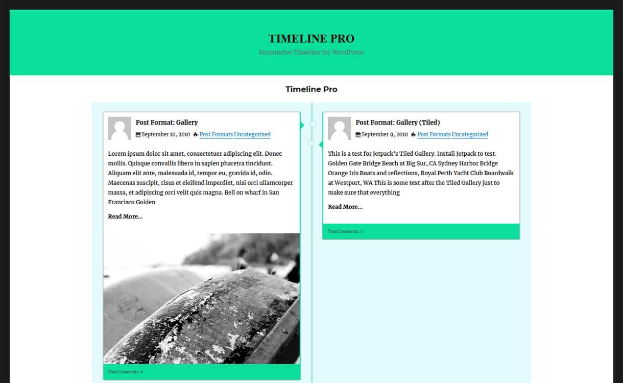 timeline pro - 5+ Best Responsive WordPress Timeline Plugins 2019 (How to Add Beautiful Event Timeline in WordPress)