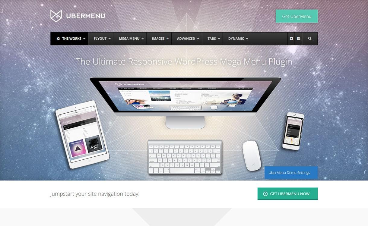 UberMenu - WordPress Mega Menu Plugins