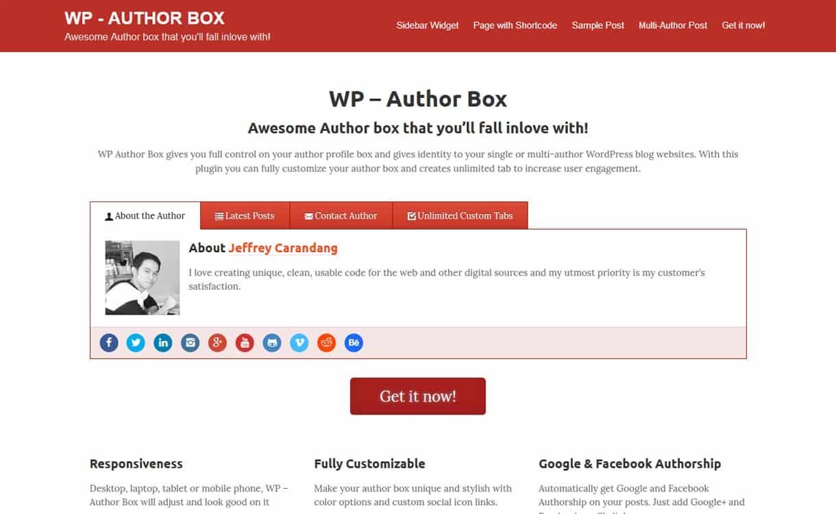wp author box - 5+ Best WordPress Author Bio Box Plugins 2019 (Updated)