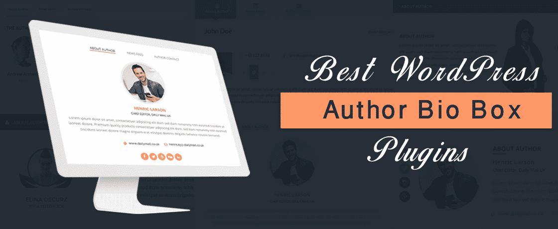 Best WordPress Author Bio Box Plugins