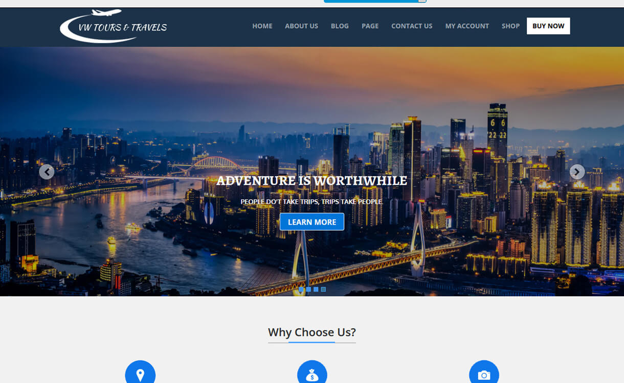 vw tour lite best travel blogs wordpress themes 1 - 21+ Best WordPress Travel Blog Themes 2019