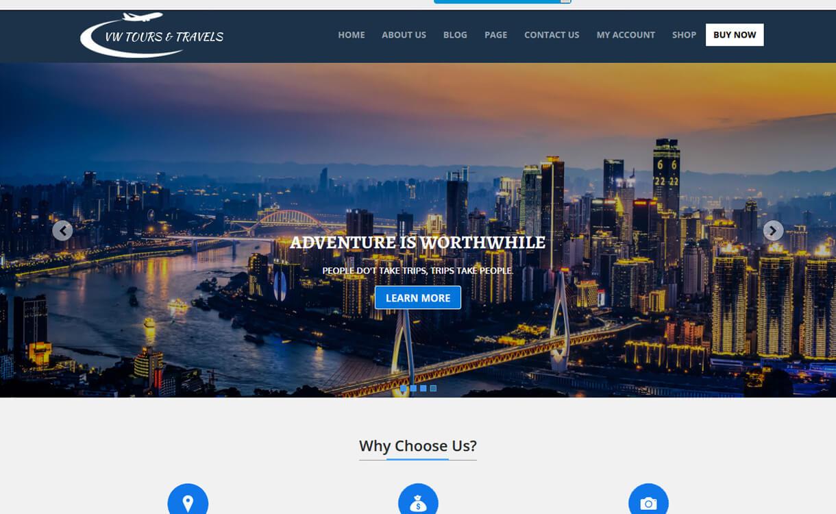 VW Tour Lite-Best WordPress Travel Blog Themes