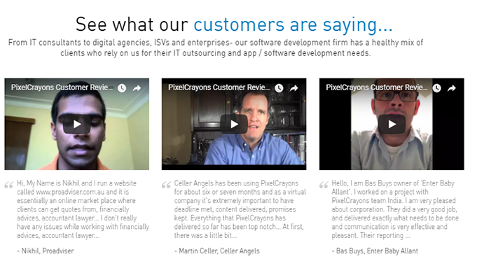 PixelCrayons WordPress Customization Clients Portfolio