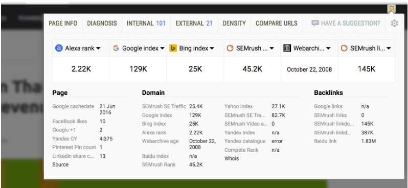 SEO Quake Tool - Best Tools To Support Your SEO Efforts