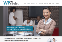 WP Minder WordPress Customization Service