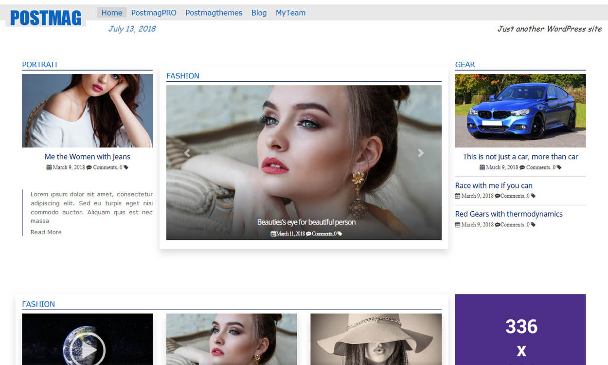 Postmag - Free Magazine and Newspaper WordPress Theme