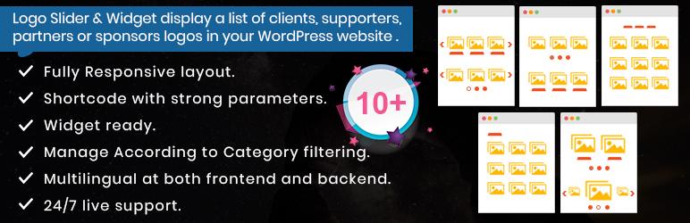 Logo Slider and Widget Responsive