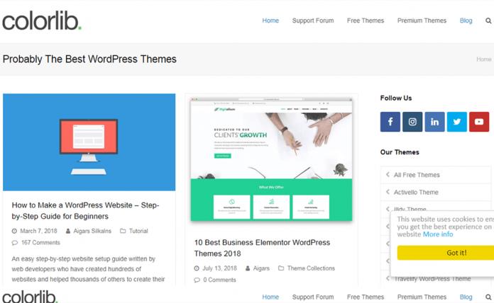 Colorib WordPress CustomizationService