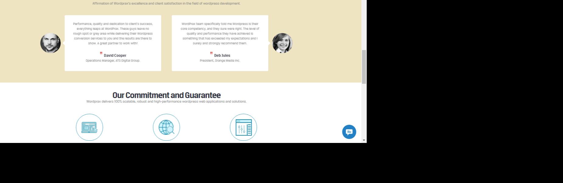 WordPrax-customization- portfolio