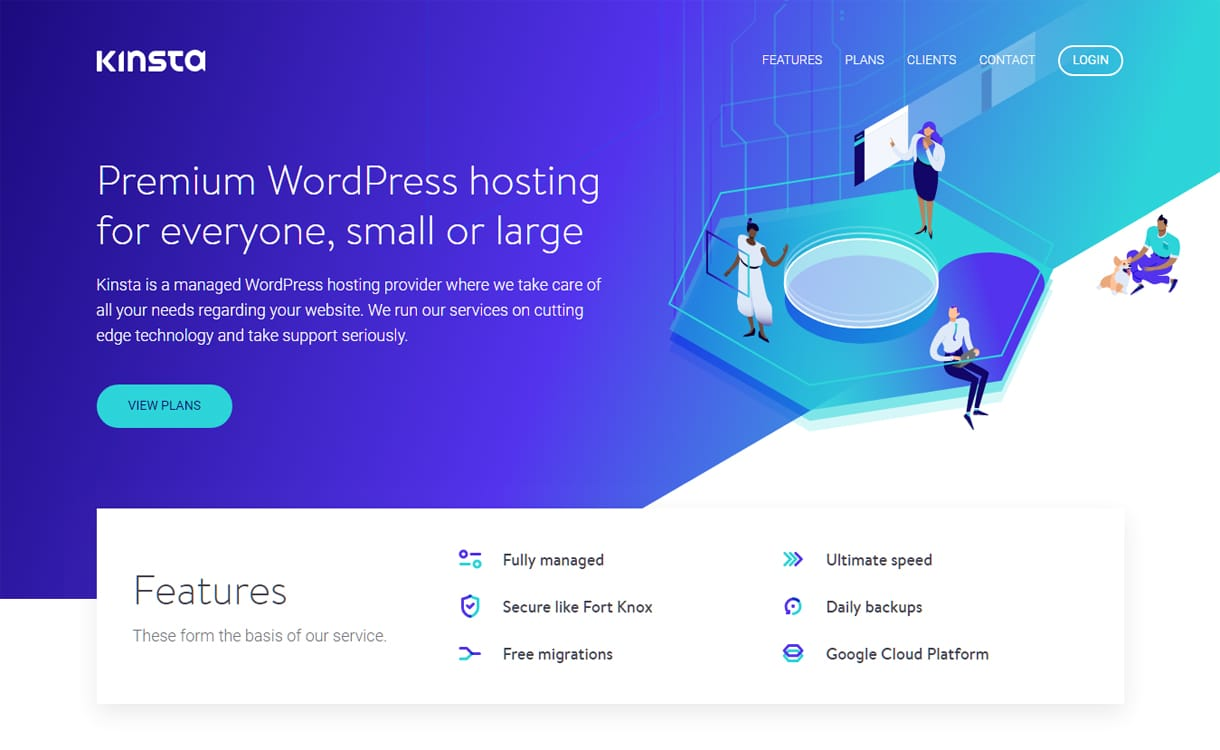 Kinsta - Best WordPress Hosting Services