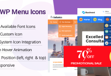 WP Menu Icons - Premium WordPress Menu Icon Plugin