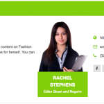 Author Bio Box Clean Design Green 150x150 - How to add an Author Bio Information Box in your WordPress Blog Post? (Step by Step Guide)