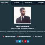 Author Bio Box Tabbed Dark 150x150 - How to add an Author Bio Information Box in your WordPress Blog Post? (Step by Step Guide)