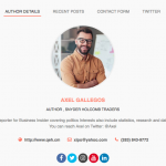 Author Bio Box center aligned 150x150 - How to add an Author Bio Information Box in your WordPress Blog Post? (Step by Step Guide)