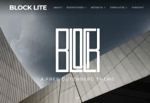Block Lite - Free Responsive WordPress Theme