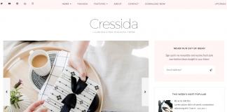 Cressida - Free Blog WordPress Theme