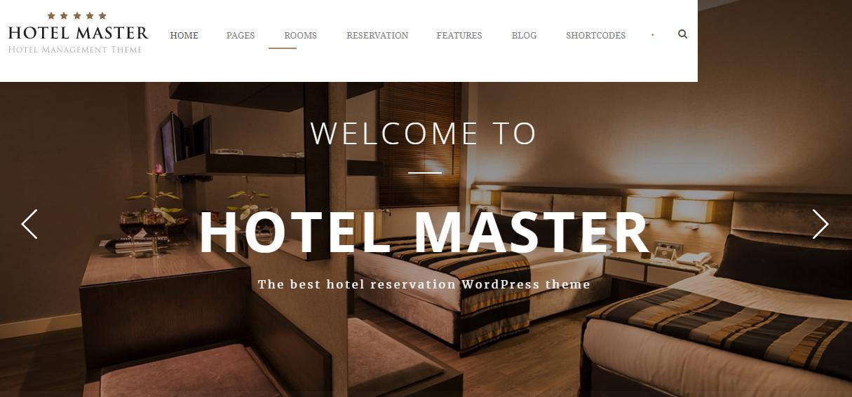 Hotel WordPress Theme For Hotel Bookin - 10+ Best Hotel / Resort Premium WordPress Themes and Templates
