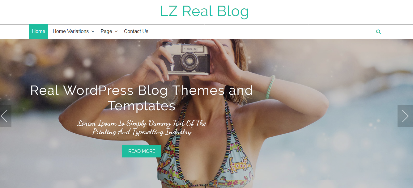 LZ Real Blog Free WordPress Blog Theme - 21+ Best Free WordPress Themes (July 2018 Releases: Hotel, Business, Lawyer, Blog, Magazine, Education, Photography and more...)