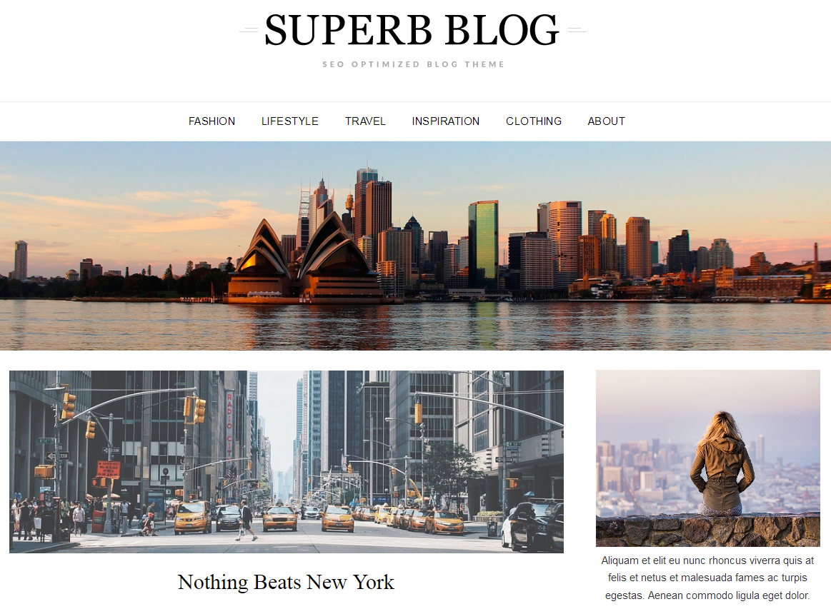 ResponsiveBlogily Free WordPress Responsive Theme - 21+ Best Free WordPress Themes (July 2018 Releases: Hotel, Business, Lawyer, Blog, Magazine, Education, Photography and more...)