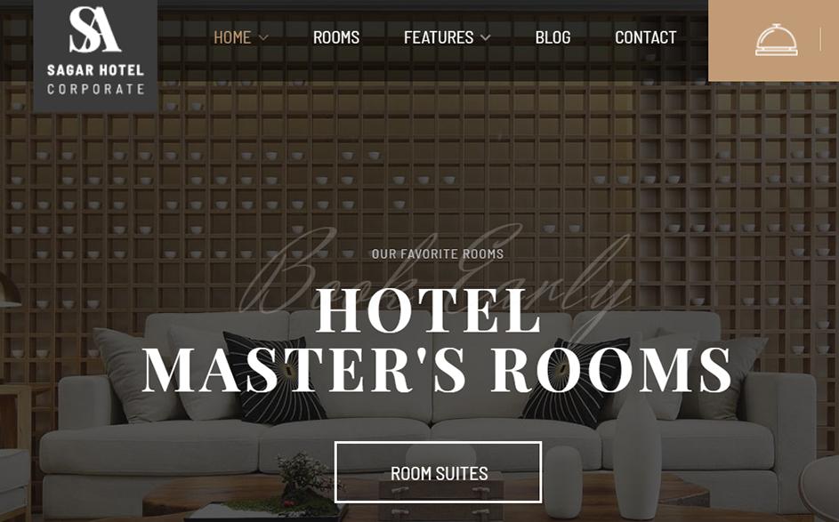 Sailing Premium Hotel WordPress Theme - 10+ Best Hotel / Resort Premium WordPress Themes and Templates