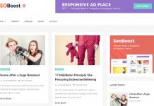 Seoboost - Free News and Magazine WordPress Theme