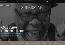 Superstar - Premium Music Band WordPress Theme