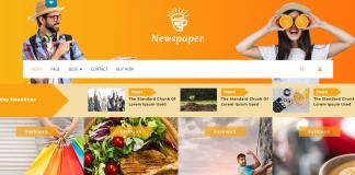 VW Newspaper - Free Magazine WordPress theme