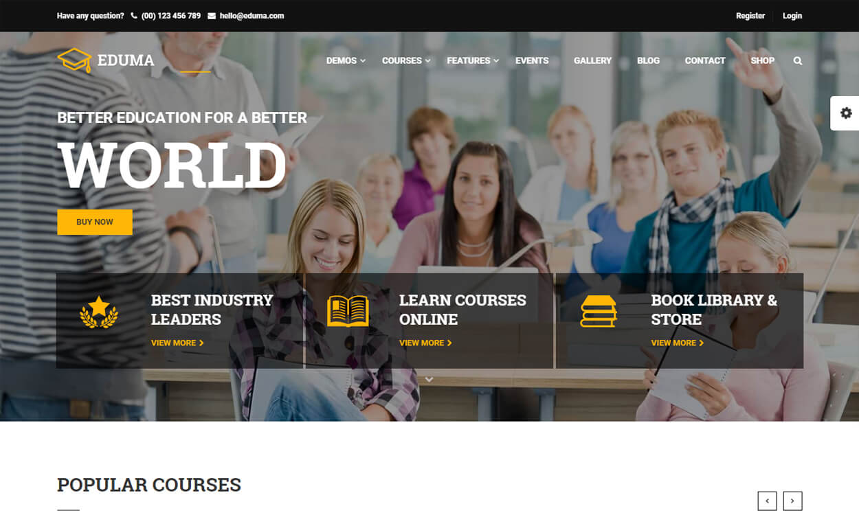 education best education school college wordpress themes templates - 10+ Best Education - School, College WordPress Themes and Templates (Free)