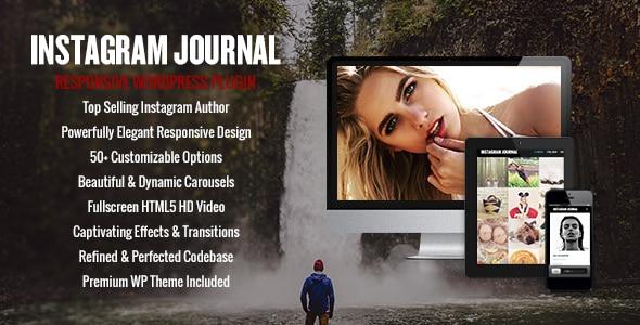 Instagram Journal - WordPress Instagram Feed Plugins