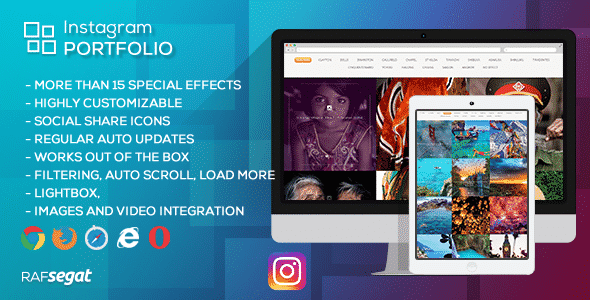 instagram portfolio - 5+ Best WordPress Instagram Feed and Gallery Plugins 2019 (premium list)