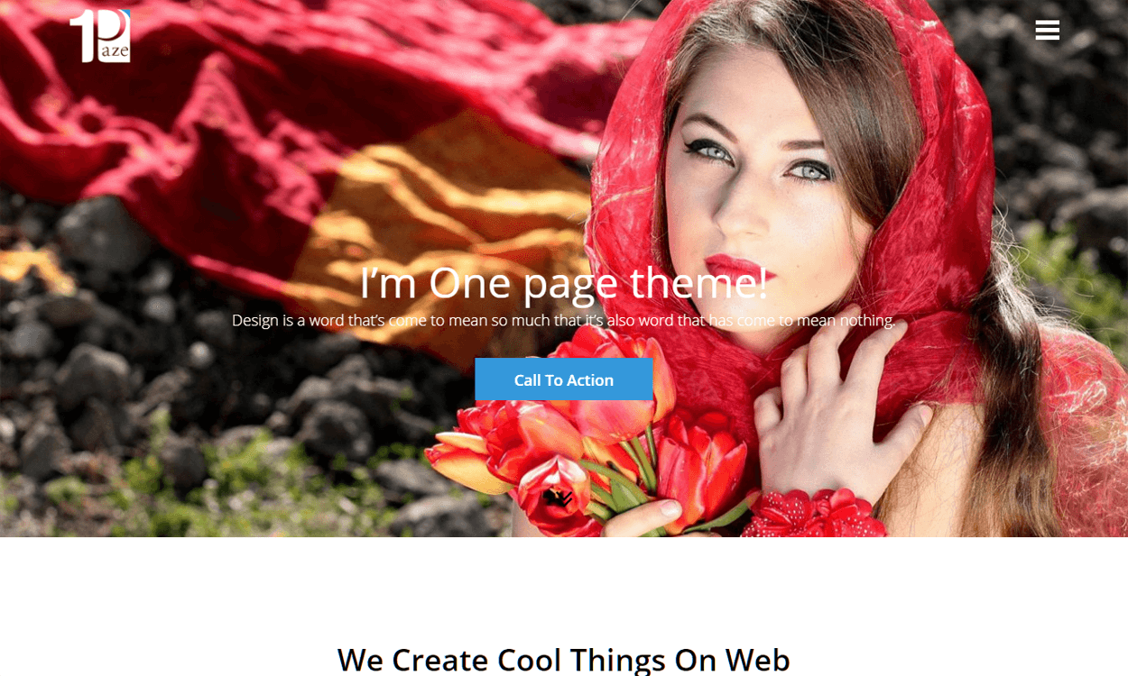 onepage best agency wordpress themes templates free - 10+ Best Agency WordPress Themes and Templates (Free)