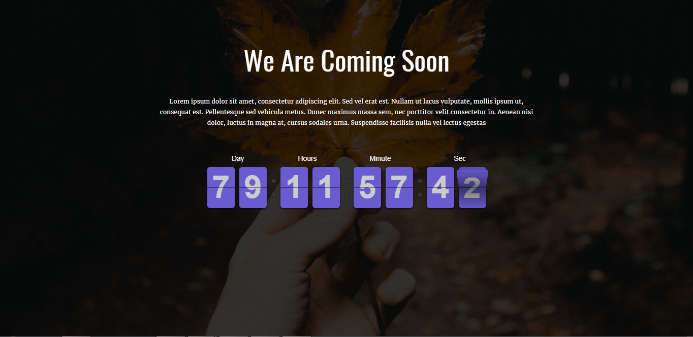 ripple pro best coming soon maintenance page wordpress themes templates 1 - 10+ Best Coming Soon and Under Maintenance WordPress Themes and Templates(Premium Version)