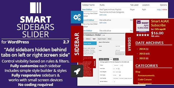 smart sidebars slider - How to enhance your WordPress website Navigation with Mega Menu, Fly Menu, Circular Menu, Custom menu icons and more!