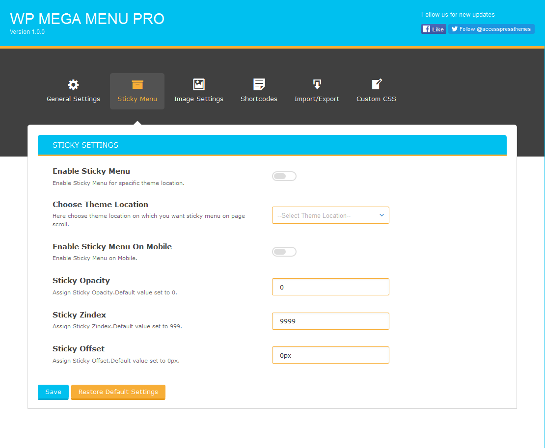 sticky menu - How to Add Mega Menu in your WordPress Website or Blog (Step by step guide: screenshots included!)