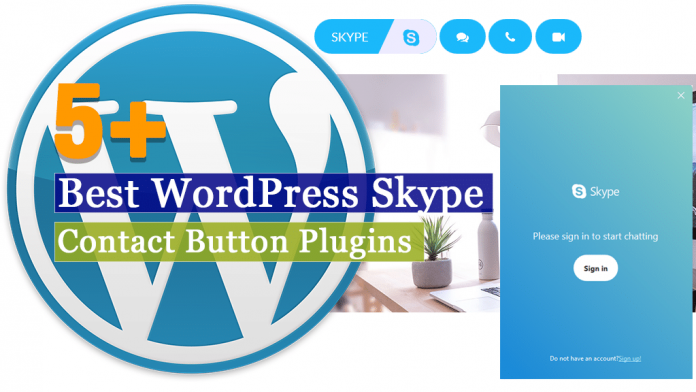 Best WordPress Skype Contact Button Plugins