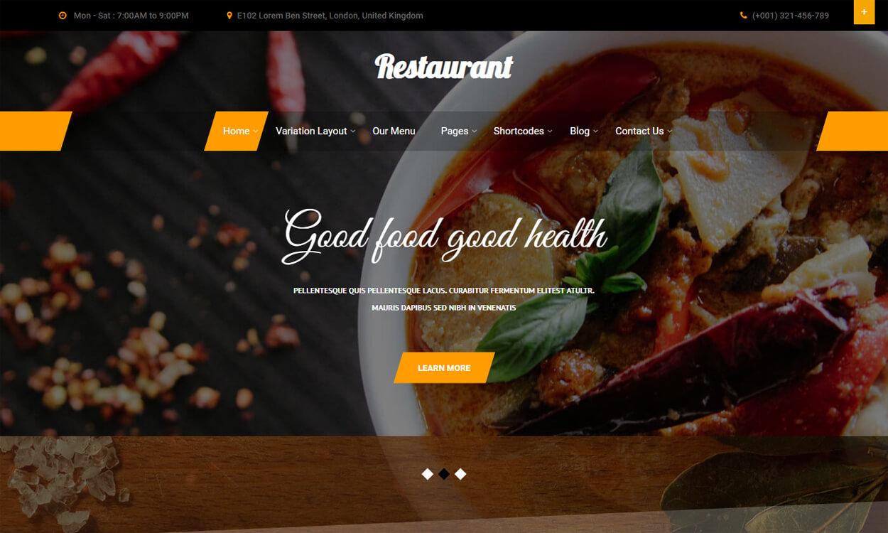 Bistro Lite - Best Free Hotel Resort WordPress Themes Latest