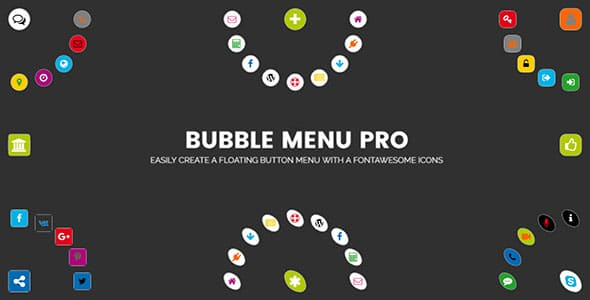 bubble menu pro - 5+ Best WordPress Floating Side Tab Plugins (Premium Collection)