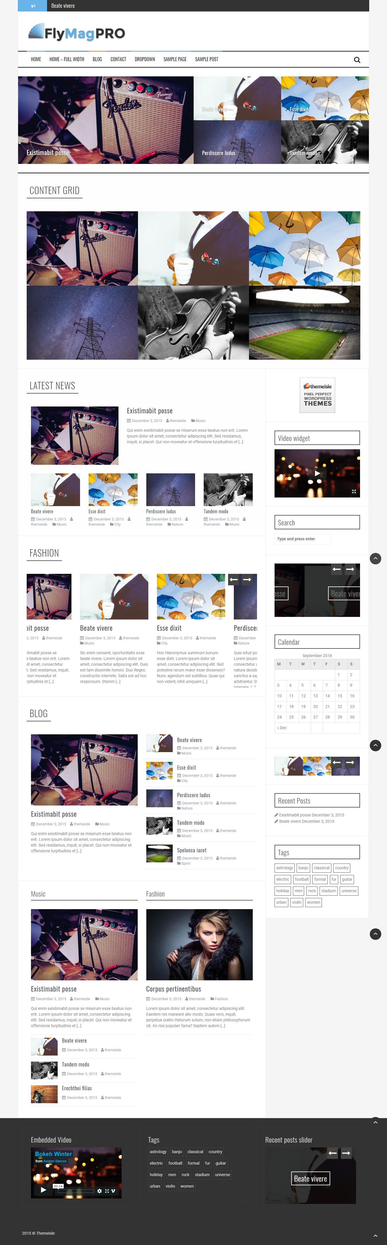 Flymag Pro- Best Premium Responsive WordPress Theme
