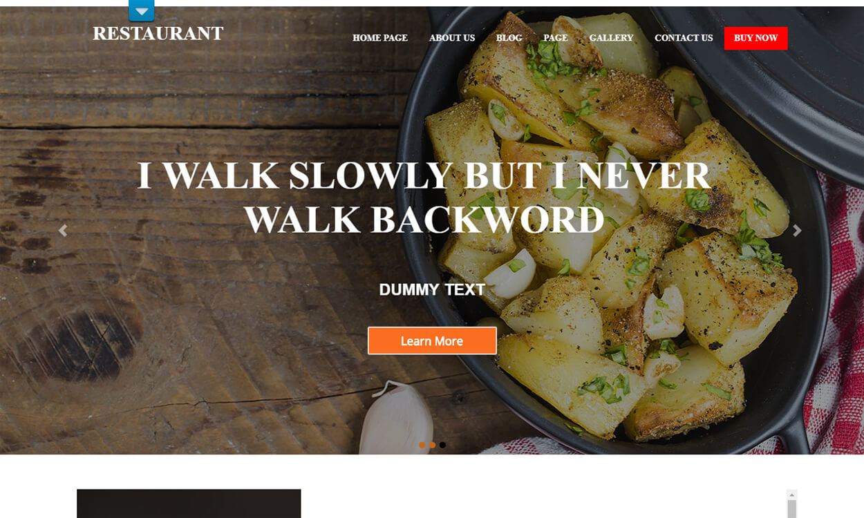 food restaurant best free hotel resort wordpress themes latest - 17+ Best Free Hotel / Resort WordPress Themes (latest)