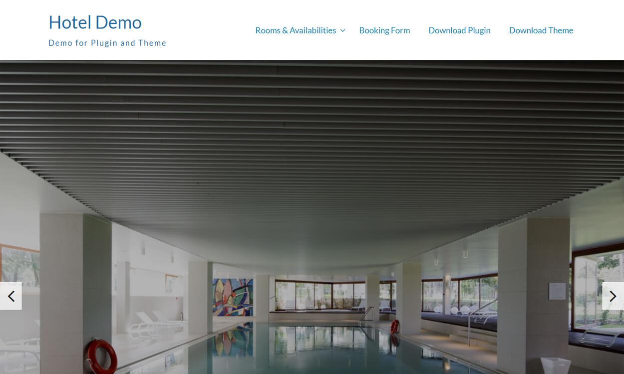 Hotel Hamburg - Best Free Hotel Resort WordPress Themes Latest
