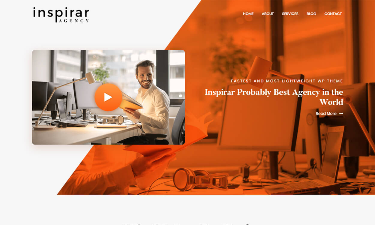 Inspirar - Best Free WordPress Themes August