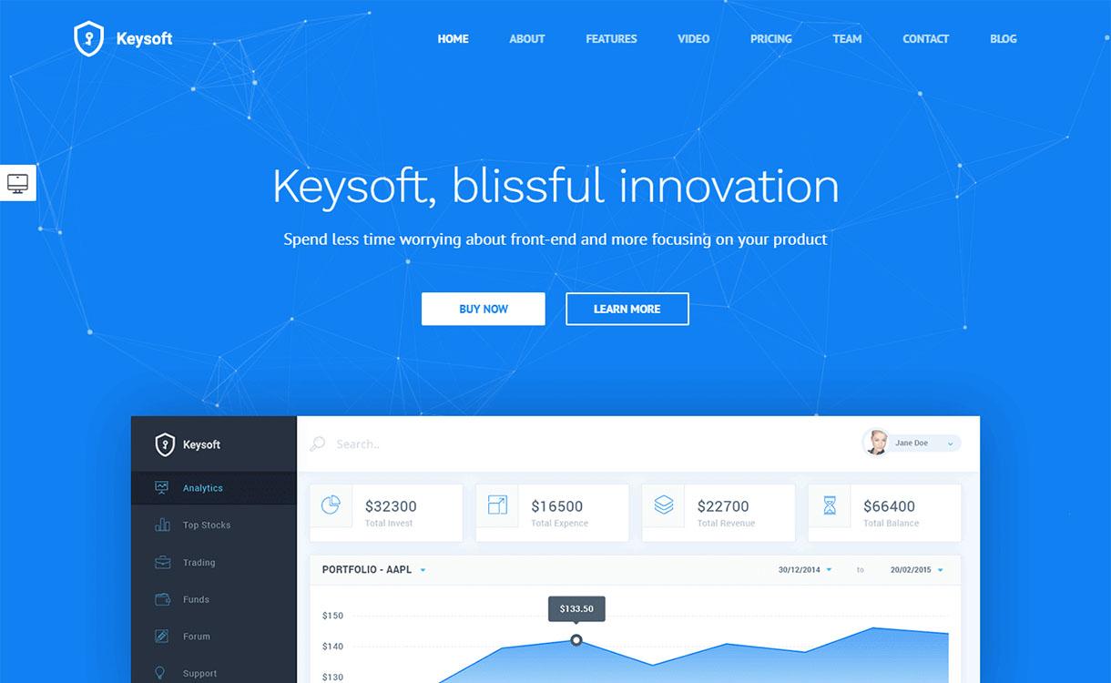 keysoft-premium-wordpress-landing-page-themes